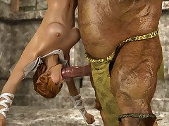 Incomparable hottie takes every inch of monster cock in dungeon