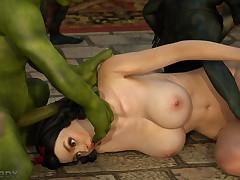 Goblins made Snow White their slut but..