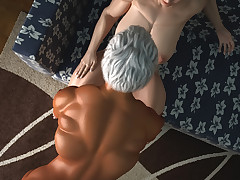 Two sexy strapping bitches attempt some kinky lesbian fun