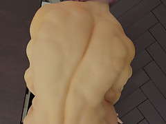 Exotic 3D muscular babes are all ready for elephantine dicks