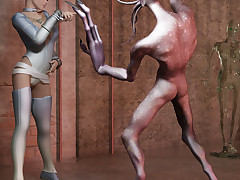 Despondent sci-fi girls win somewhere wonder mutant ugly dicks