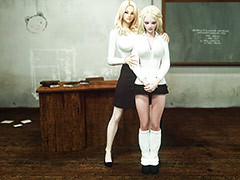 Hot blondes with crazy porn fantasies - Class be advantageous to Corruption by Vaesark