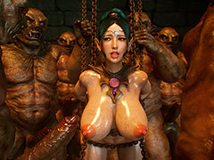 Dirty monsters enjoy beauties - Pixie slave 4 Cross Fate away from Jared999d