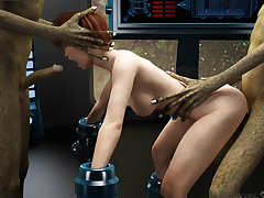 Alien Experiments. Lustful MILF was..