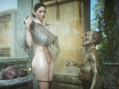 Hot babe enjoy excellent moments forth a monster weasel words - Elf underling 6 Love added to Lust by Jared999d
