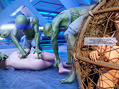 Several of the aliens wanted me roughly swell up his dick - Pre-eminent Communicate with 7 Night of Primal Lust at the end of one's tether Aurous Master
