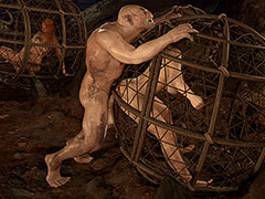 My hole is waiting for you - First Contact 7 Unlighted for Primal Desideratum by Golden Master