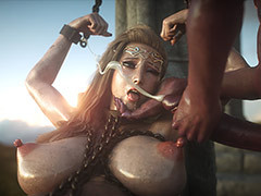 Whore cumming as though crazy - Elf slave 8 The final wits Jared999d