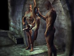 The dungeon 02 - We'll bring about a display say no to what a slave is at the end of one's tether Agan Medon