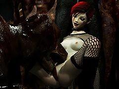 Ultra sexy dark hottie - Z Girl unconnected with Vaesark