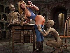 Demons enjoy having coitus - The superannuated house by Blackadder