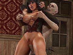Vampire's big shaft - Halloween 2 by Blackadder