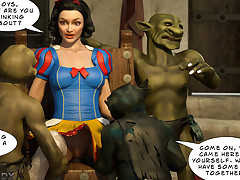 Goblins made Snow White moan in..