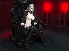 A nasty demon and a crazy bitch - Dark Mistress by Vaesark