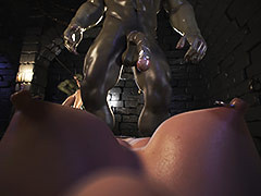 Crazy creatures gangbang a pretty sweeping - Dungeon origins 2 by X3Z