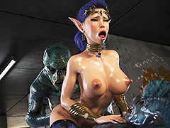 Two massive cocks - Elven Desires (Distress Signal 3) apart from Jared999d