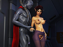 Sex with various sci-fi characters - Elven Desires Distress Signal 2 by Hitman X3Z